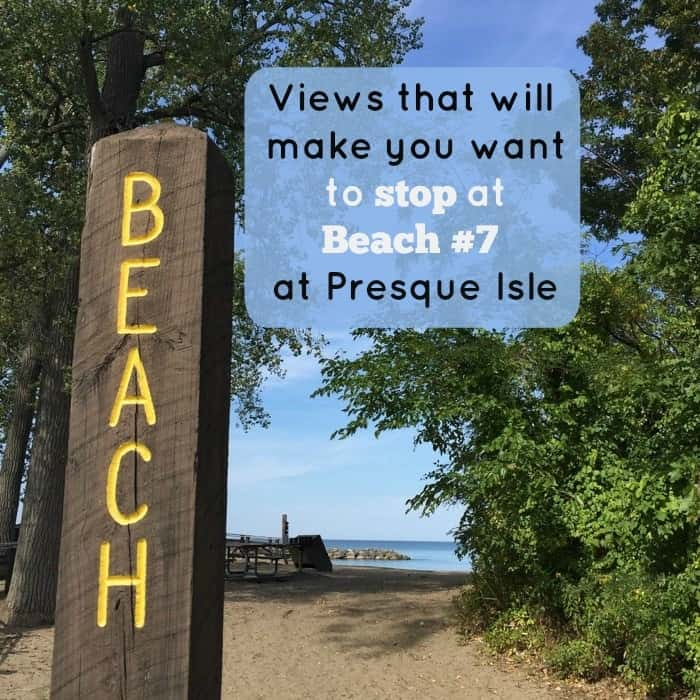 Views that will make you want to stop at Beach #7 at Presque Isle