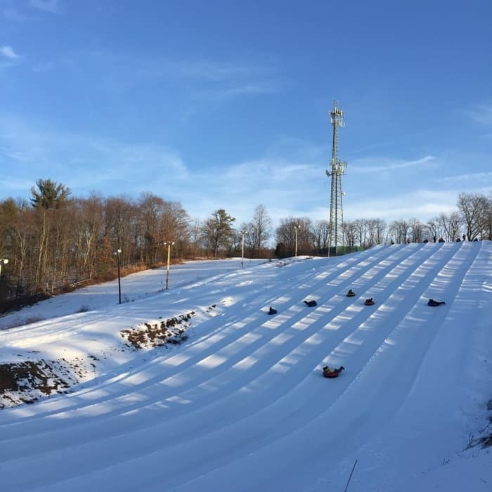 White Lightning Snow Tubing