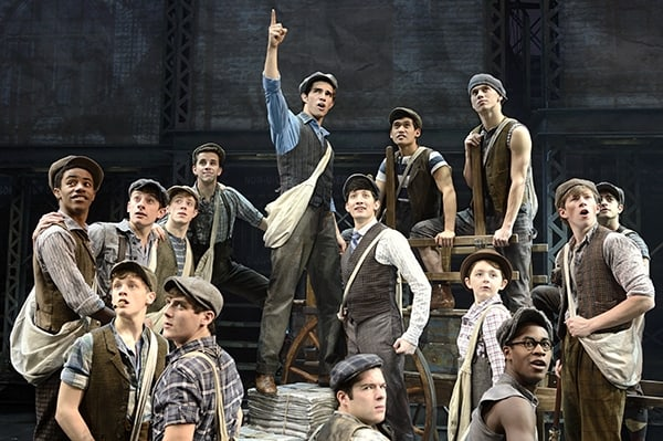 Newsies on Broadway