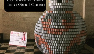 Canstruction - Art Made of Cans for a Great Cause