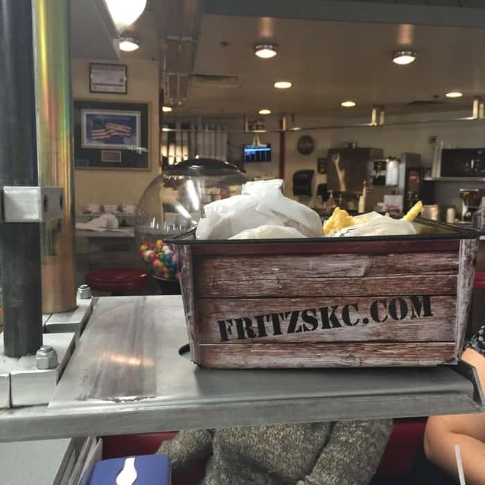 Fritz's food delivery
