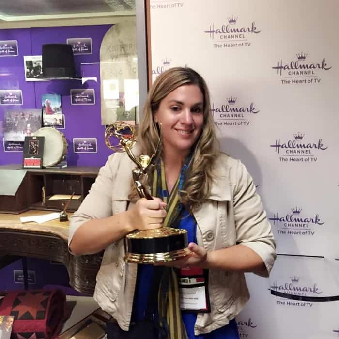 Hold an Emmy at Hallmark Visitor Center