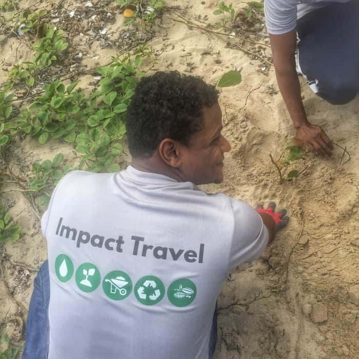 Reforestion with Fathom Travel 13