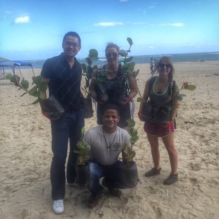 Reforestion with Fathom Travel 24