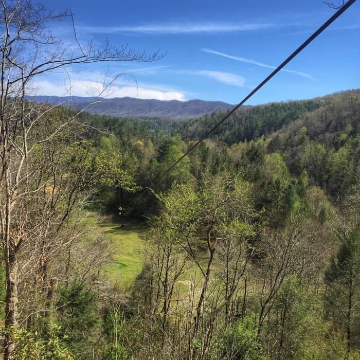 Foxfire Mountain Adventure Park zipline