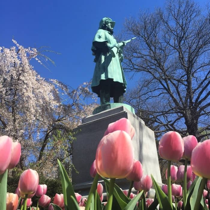 Historic cemetery tour at Spring Grove Cemetery in Cincinnati Ohio