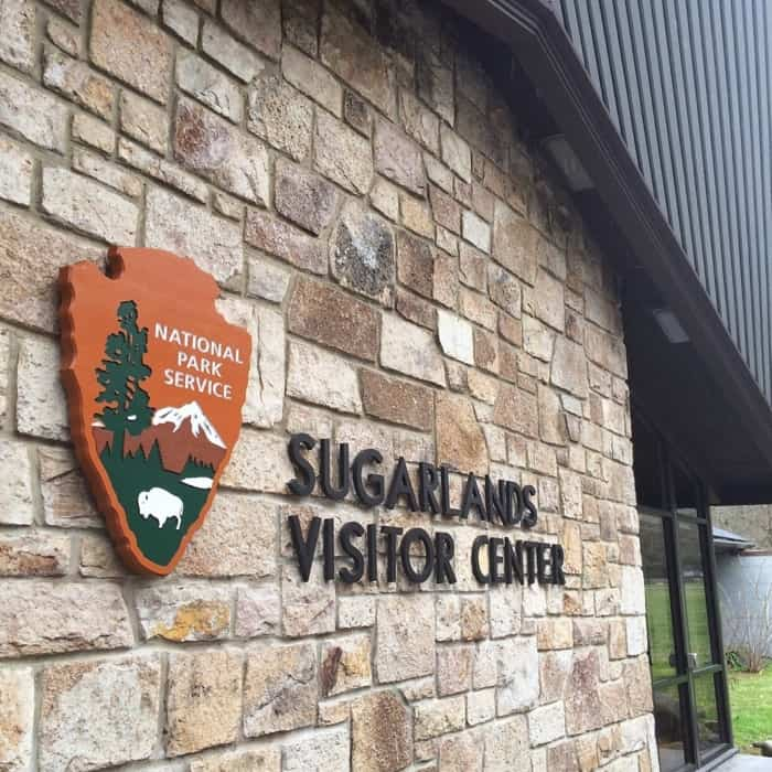 Sugarlands Discovery Center building