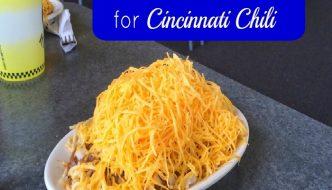 The solution when you are homesick for Cincinnati Chili