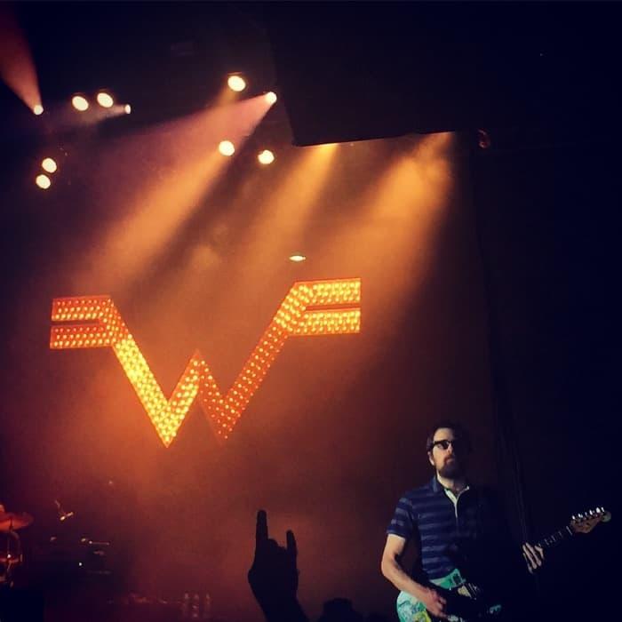 Weezer concert Horseshoe Casino 2