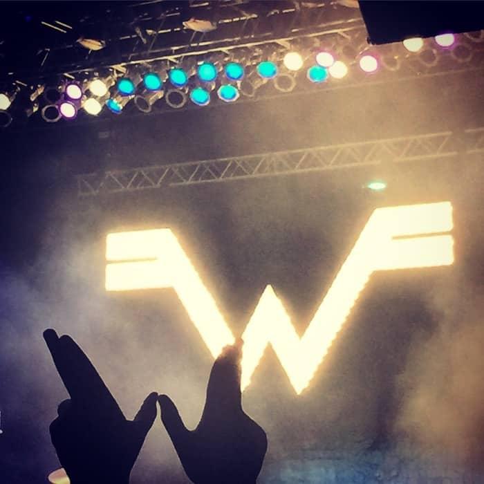 Weezer concert Horseshoe Casino