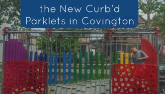 5 Reasons to Discover the New Curb'd Parklets in Covington