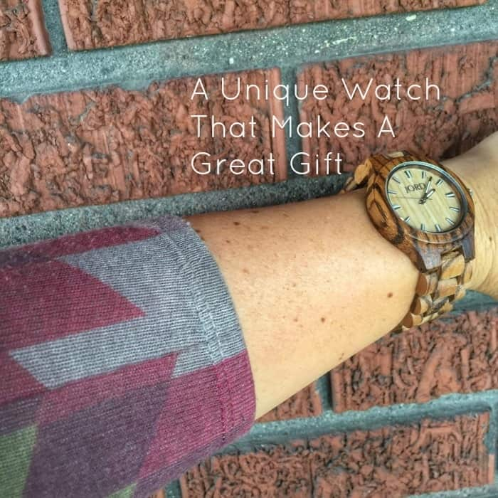 A Unique Watch That Makes A Great Gift