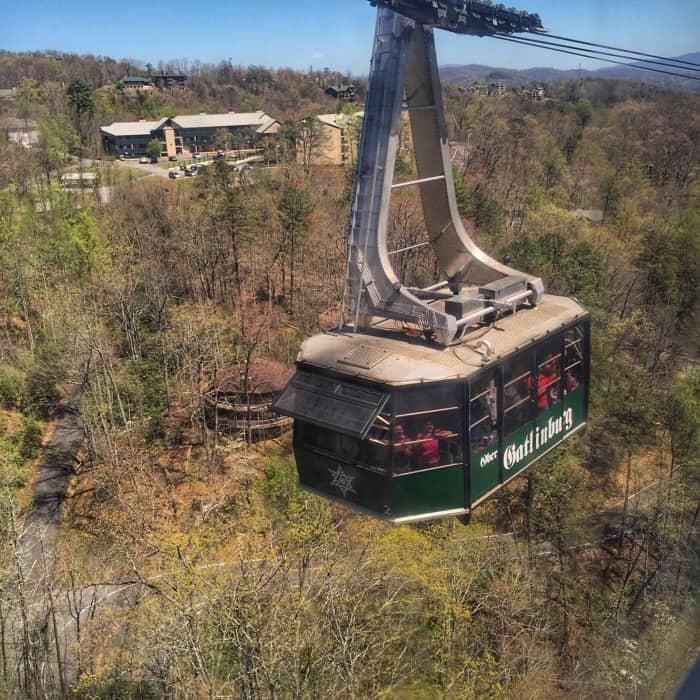Aerial tramway Ober Gatlinburg