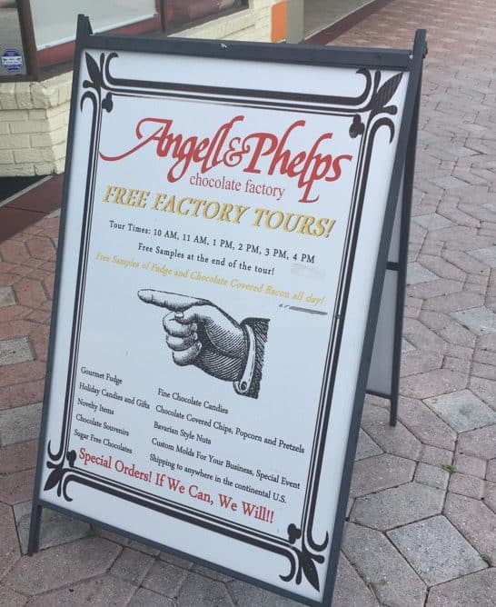 Angell & Phelps Chocolate Factory in Daytona Beach, FL