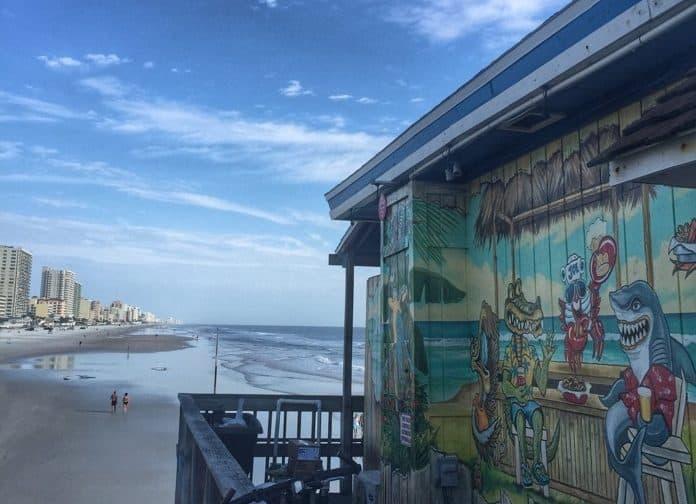 Views at Crabby Joe's Deck & Grill in Daytona Beach, FL