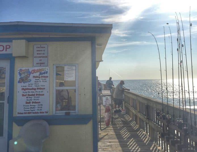 Deck at Crabby Joe's Deck & Grill in Daytona Beach, FL