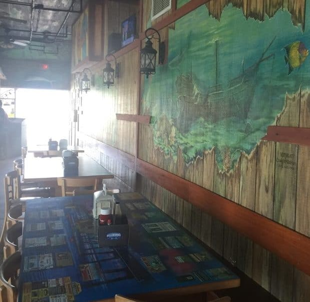 Inside Dining at Crabby Joe's Deck & Grill in Daytona Beach, FL