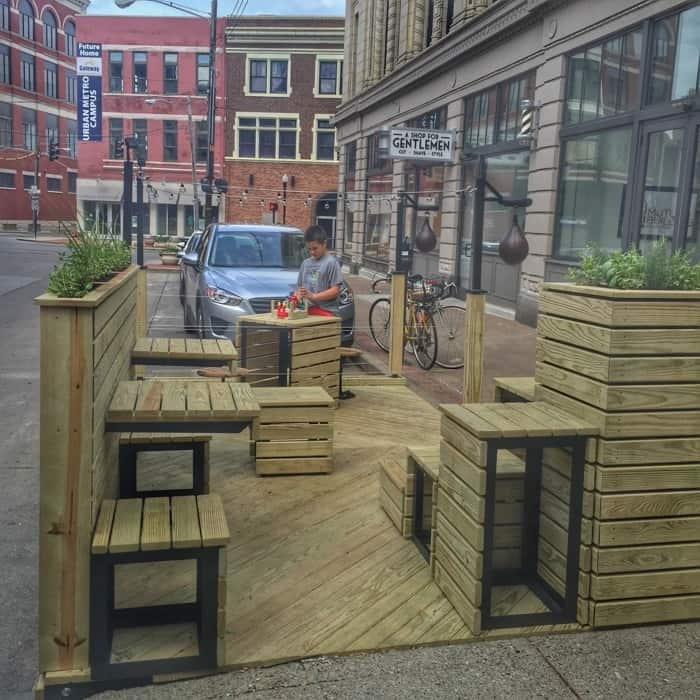 Curb'd Parklets in Covington 12