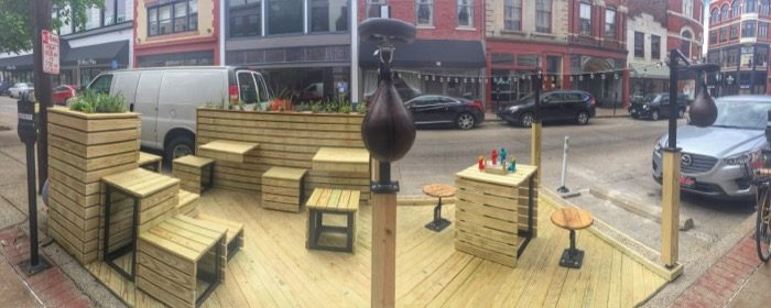 Curb'd Parklets in Covington 8