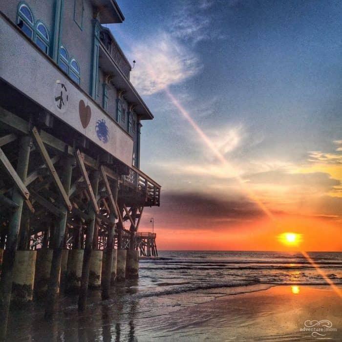 Daytona pier sunrise