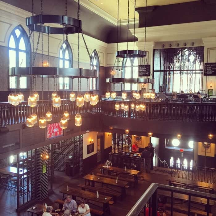 Inside Taft Ale House