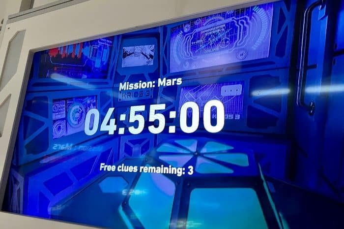 Mission Mars at The Escape Game Pigeon Forge TN
