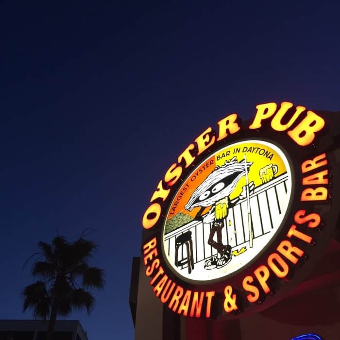 The Oyster Pub Sports Bar & Grill in Daytona Beach, FL