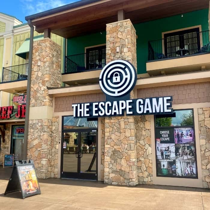 The Escape Game Pigeon Forge TN