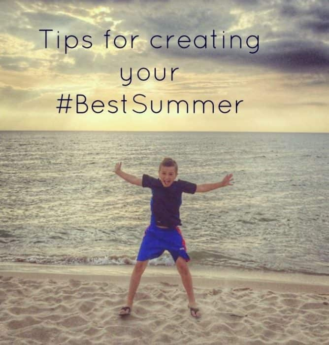 Tips for creating your #BestSummer