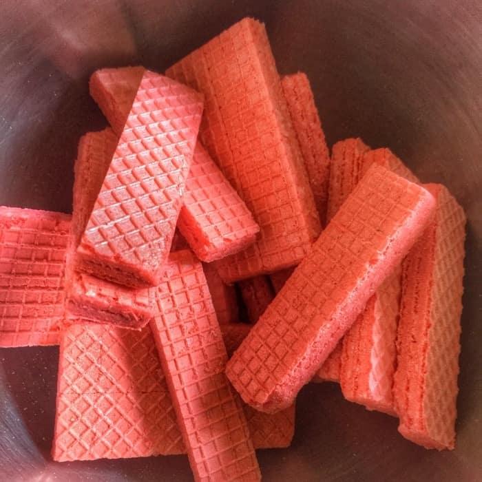 Voortman strawberry wafer
