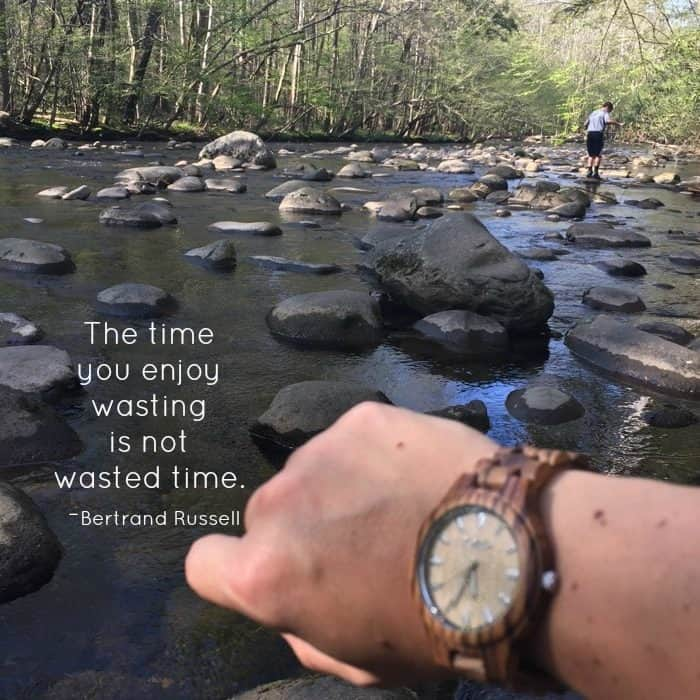 quote about wasting time