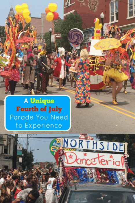 A Unique Fourth of July Parade in the Cincinnati neighborhood of Northside that You Need to Experience
