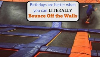 Birthdays are better when you can literally bounce off the walls