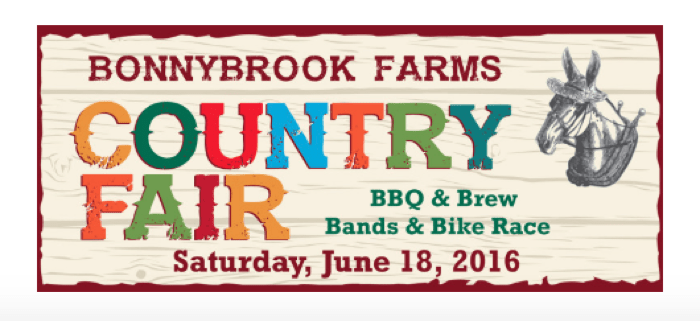 COUNTRY FAIR at Bonnybrook Farms June 18