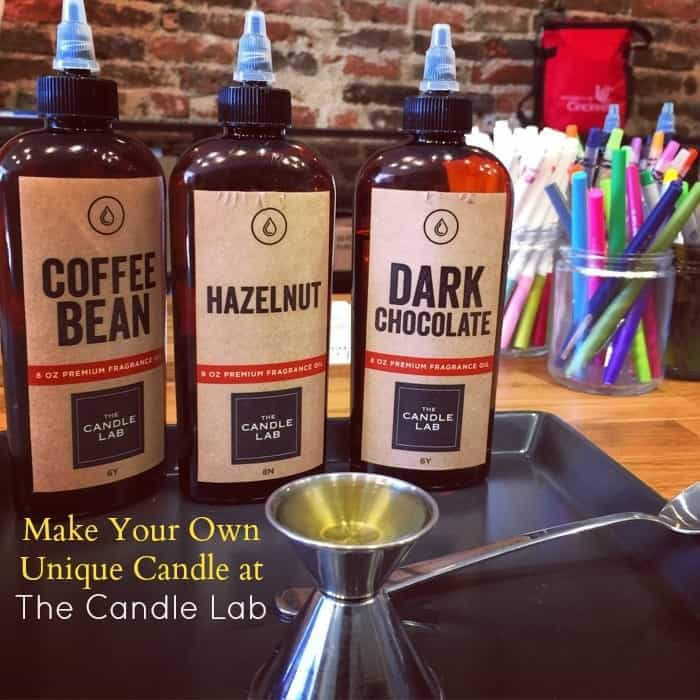 Make Your Own Unique Candle at The Candle Lab
