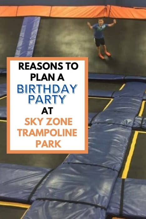 Reasons to Plan a Birthday Party at Sky Zone Trampoline Park