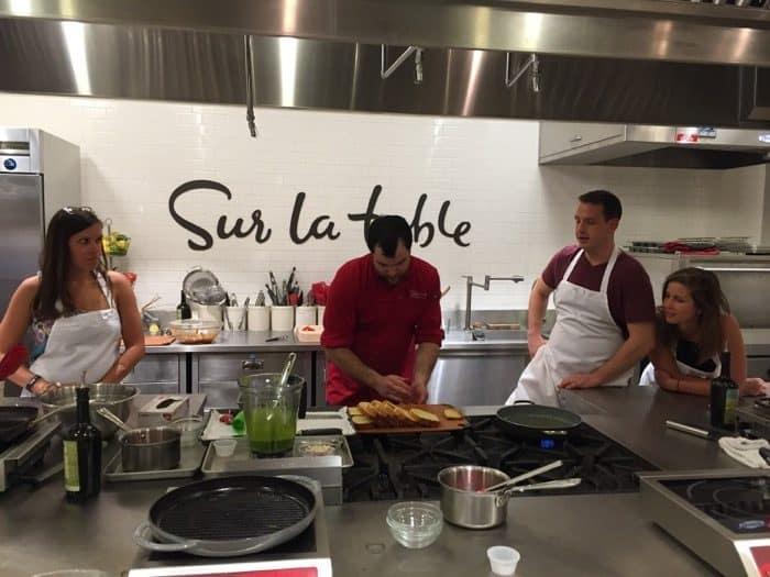 Sur La Table Cooking Class in Cincinanti