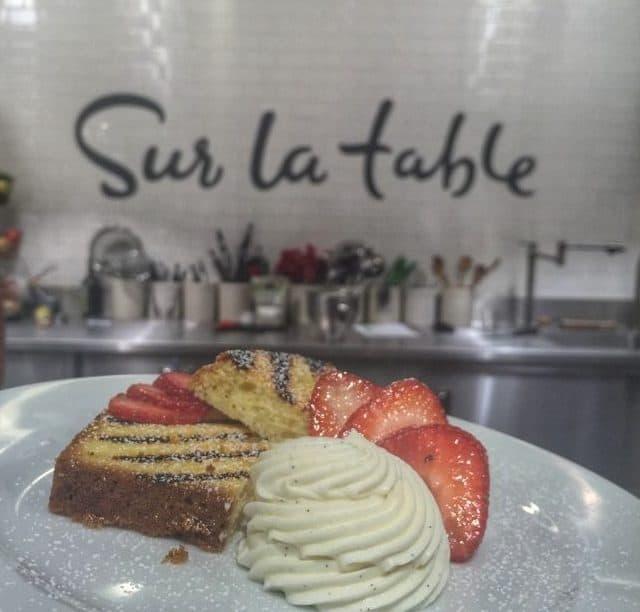 Dessert Cooking Class Sur La Table Rookwood