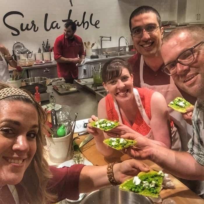 Sur La Table Cooking Class Rookwood