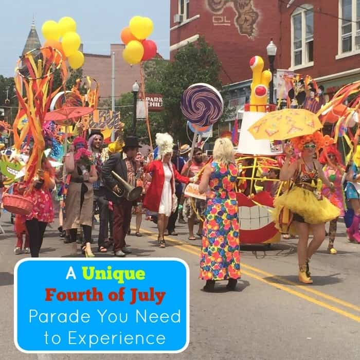 A Unique Fourth of July Parade You Need to Experience