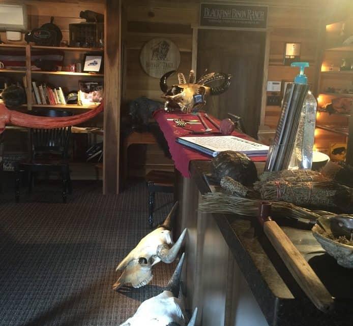 Blackfish Bison Ranch Educational Room