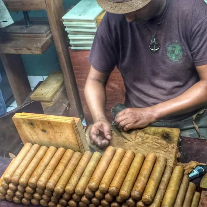 Cuban Cigar shop Little Havana