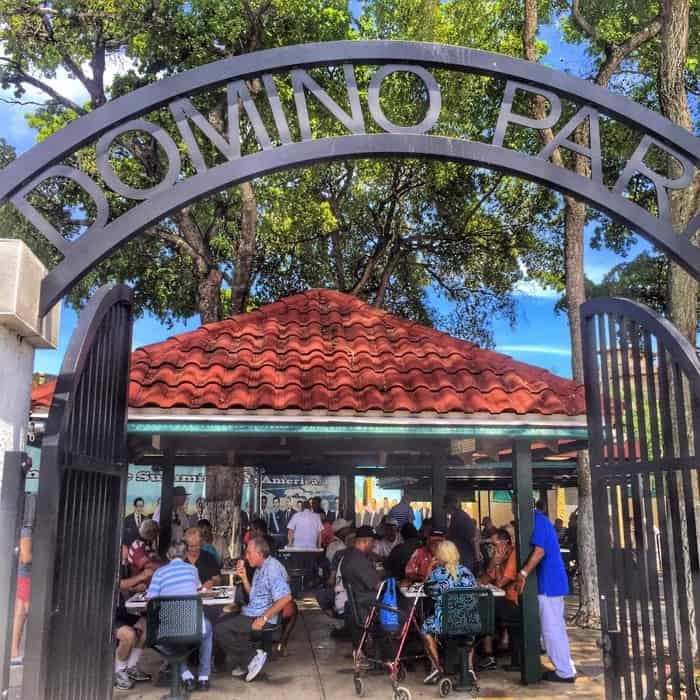 Domino Park in Little Havana
