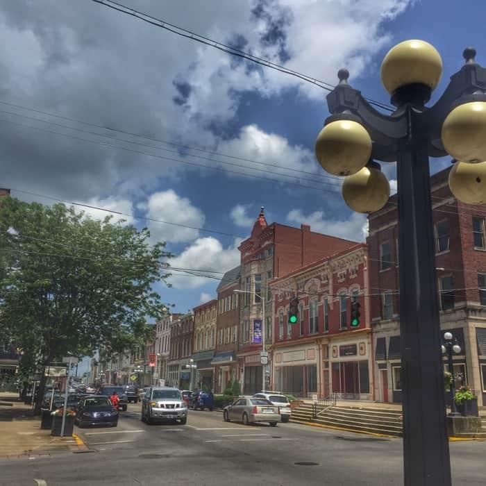 Downtown Winchester Kentucky
