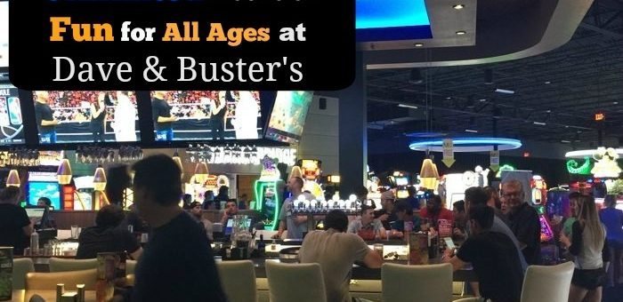 Unlimited Hours of Fun for All Ages at Dave & Buster's – Giveaway