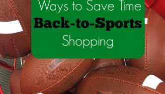 Ways to Save Time Back-to-Sports Shopping