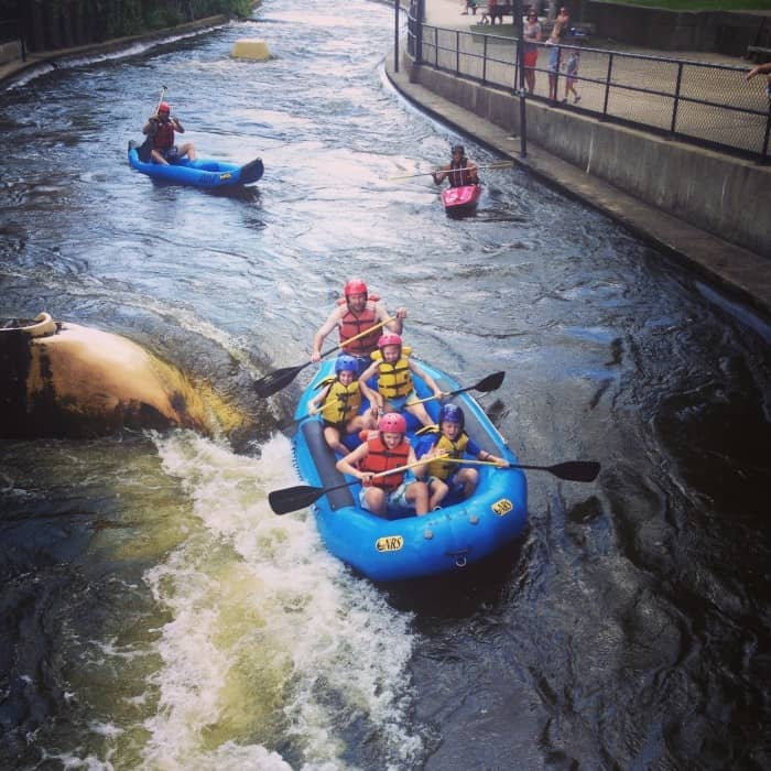 Whitewater rafing South Bend Indiana 2