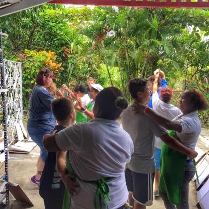 dancing at RePapel