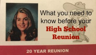 What You Need to Know Before your High School Reunion