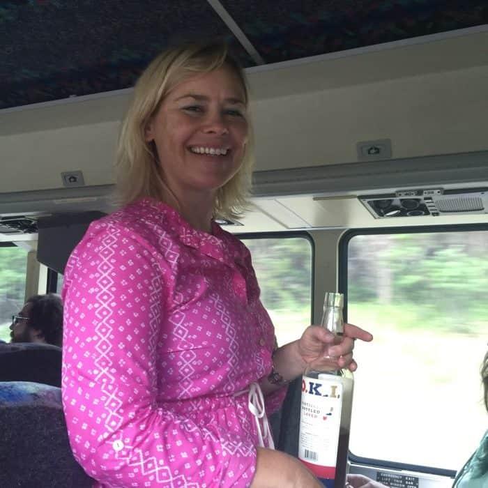 Bourbon Tour bus